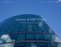 Simple Responsive Career Page + Wireframe