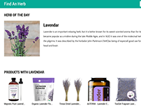 FindAnHerb (iOS, Android & Web Application)