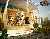 Cat Simulator 2015 UI & Promo Graphics