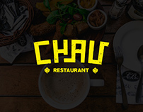 CHAU Restaurant Identity Design