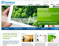 Tembec - Site web