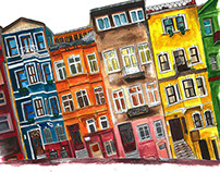 Balat houses