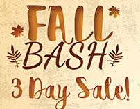 Fall Bash Postcard