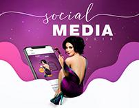 Social Media ♢ 2018 beauty clinic and spa
