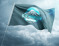 3D Realistic Flag Mock Up`s
