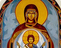 Comtemporary Christian Icon Paintings