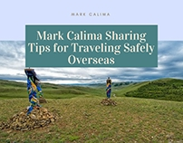 Mark Calima Sharing Tips for Traveling Safely Overseas