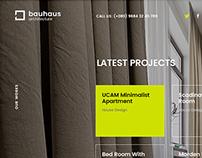 Bauhaus | Architecture & Studio Wesite