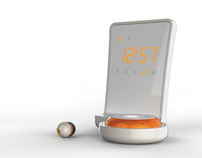 WAKE Earbud Alarm Clock