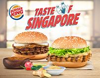 Burger King Taste of Singapore
