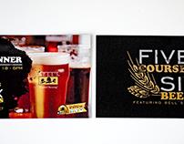 Beer and Food Menus