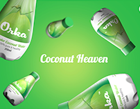 Orka - Coconut Product & Packaging design
