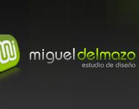 MIGUEL DEL MAZO // Business Card Design
