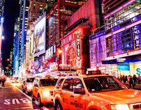 New York Lights (HDR)