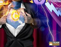 Conan O'Brien Show Coco Moca Art