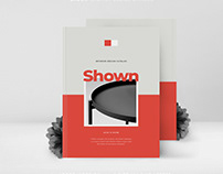 SHOWN Interior Design Catalog