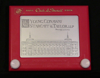 Time Lapse Etch A Sketch® Video