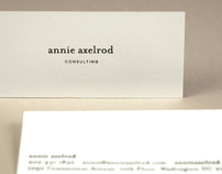 Annie Axelrod Consulting