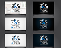 Tanguay & Sons Business Card Design Project