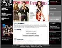 Niche Media Website