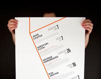 Architecture Lecture Poster