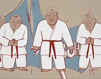 Taekwondo animation