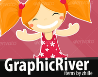 Graphic River items by zhille(me, of course).