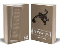 12 Monkeys -Book Design