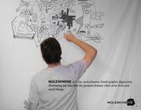 Moleskine'rie' design logo compétition