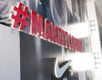 Nike #MAKEITCOUNT Retail 2012