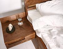 Кровать V12 от Fly Massive Millworks