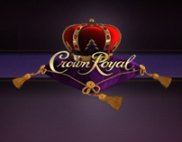 CROWN ROYAL - Web Design