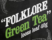 Folklore Tea Package Design