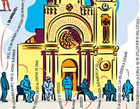 MAGAZINE ONBARCELONA · 6 infographics-illustrations