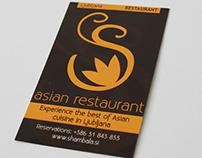 Promo materials Restaurant Shambala
