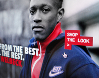 Nike JDSports #MAKEITCOUNT 2012 Digital Facebook