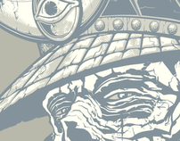 Artist Series Samurai Tee for Cranio