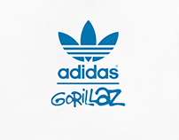 If adidas x Gorillaz happened [2015 ReVisited]