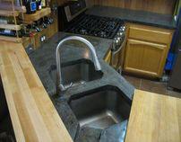 Malmberg Kitchen - Concrete Countertop