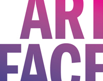 Invitation - Art Face Party, Geneva