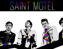 Saint Motel Poster Design