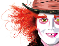 The Mad Hatter - Tim BURTON Tribute