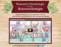 2011 Holiday Campaign for Accountemps