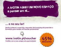 Ivotin Digital Voucher Campaign