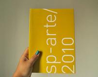 design gráfico | catálogo sp-arte