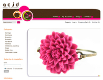 acjd updated ecommerce business web site