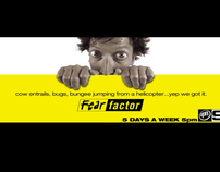 FEAR FACTOR LAUNCH OUTDOOR IDEAS