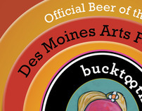 Des Moines Arts Festival Official Beer Poster