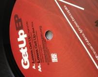 Get up // RWM vinyl design
