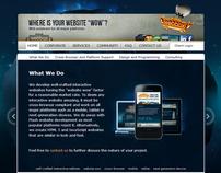 Webbax company web site